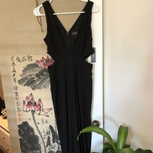 NWT Laundry Black Jumpsuit